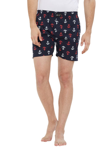 London Bee Men's Cotton Printed Boxer MLB0181