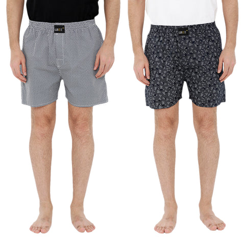 London bee men's boxer combo pack of 2  MLBCP20061