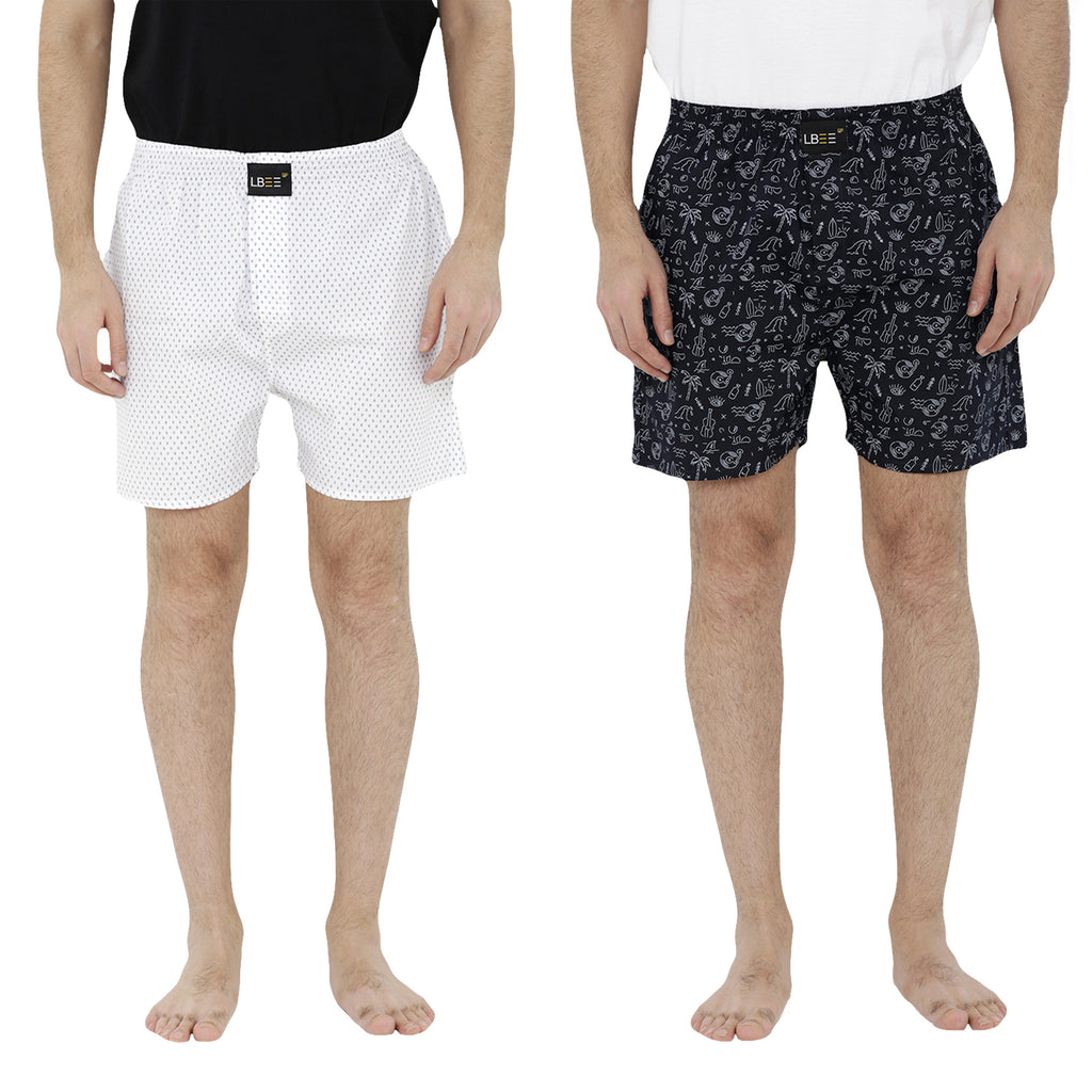 London bee men's boxer combo pack of 2  MLBCP20062