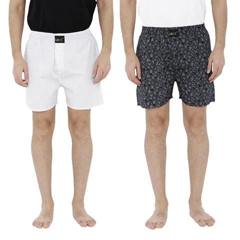 London bee men's boxer combo pack of 2  MLBCP20064