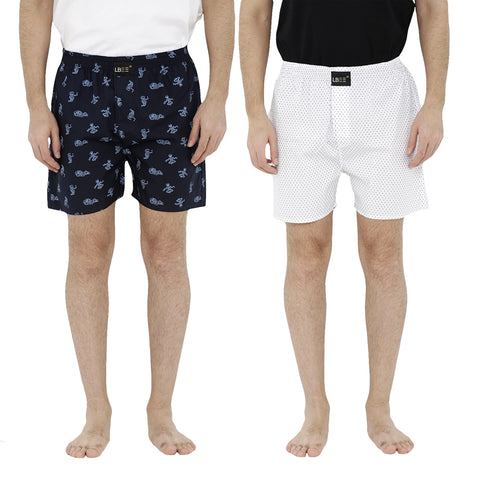 London bee men's boxer combo pack of 2  MLBCP20065