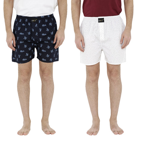 London bee men's boxer combo pack of 2  MLBCP20066