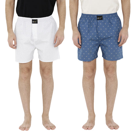 London bee men's boxer combo pack of 2  MLBCP20067