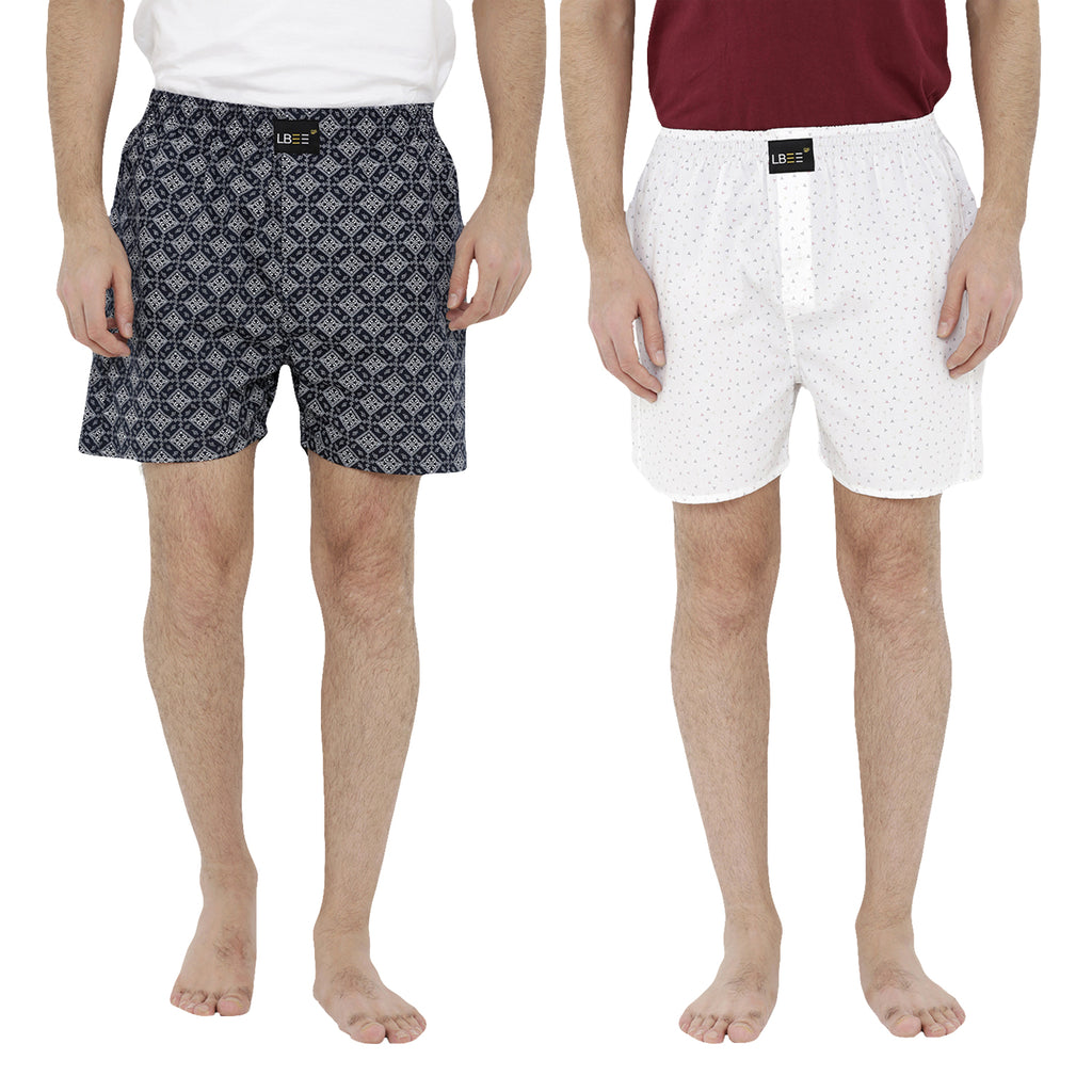 London bee men's boxer combo pack of 2  MLBCP20068