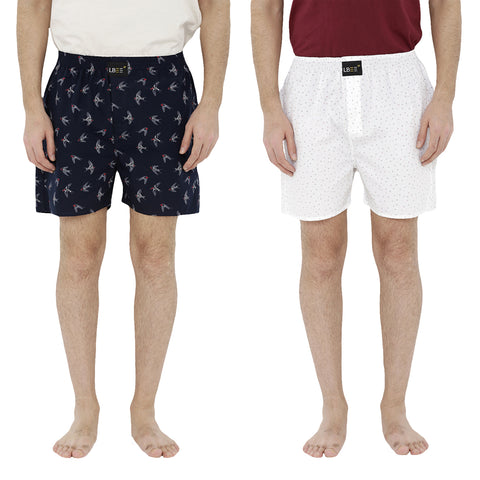 London bee men's boxer combo pack of 2  MLBCP20070
