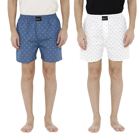 London bee men's boxer combo pack of 2  MLBCP20071