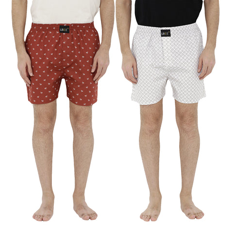 London bee men's boxer combo pack of 2  MLBCP20072