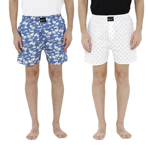 London bee men's boxer combo pack of 2  MLBCP20075