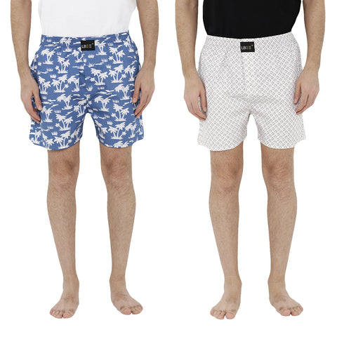 London bee men's boxer combo pack of 2  MLBCP20076