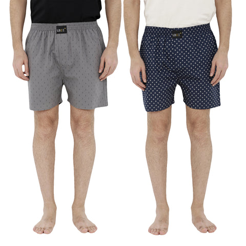 London bee men's boxer combo pack of 2  MLBCP20078