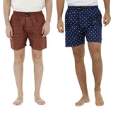 London bee men's boxer combo pack of 2  MLBCP20084