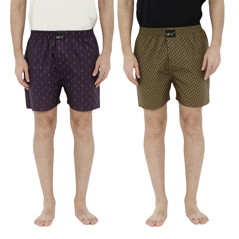 London bee men's boxer combo pack of 2  MLBCP20085