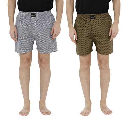 London bee men's boxer combo pack of 2  MLBCP20086