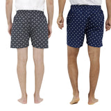 London bee men's boxer combo pack of 2  MLBCP20088