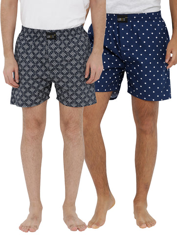 London bee men's boxer combo pack of 2 MLBCP20093