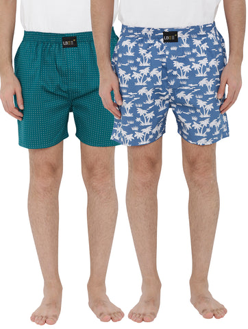 London bee men's boxer combo pack of 2 MLBCP20096