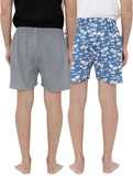 London bee men's boxer combo pack of 2 MLBCP20101