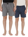 London bee men's boxer combo pack of 2 MLBCP20102