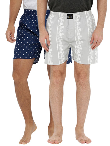 London bee men's boxer combo pack of 2 MLBCP20117