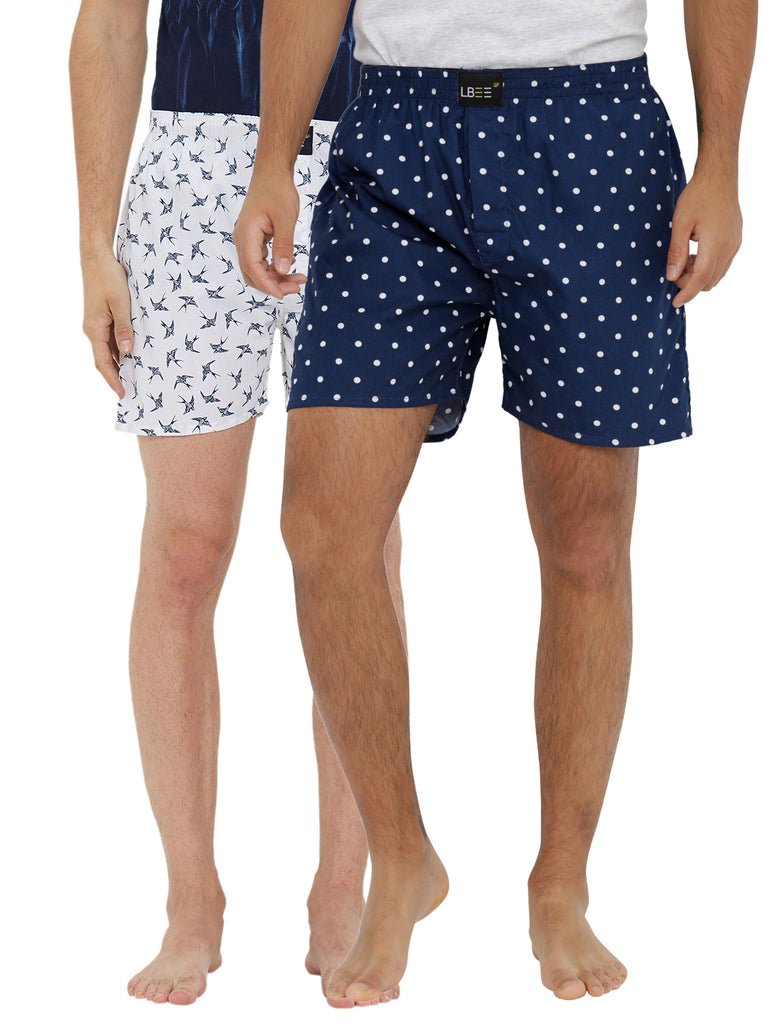 London bee men's boxer combo pack of 2 MLBCP20118