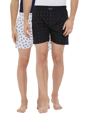 London bee men's boxer combo pack of 2 MLBCP20119