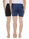 London bee men's boxer combo pack of 2 MLBCP20120