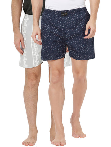 London bee men's boxer combo pack of 2 MLBCP20125