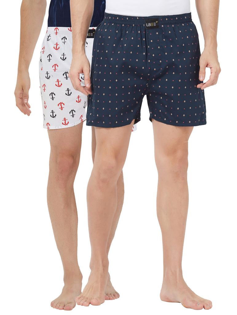 London bee men's boxer combo pack of 2 MLBCP20126