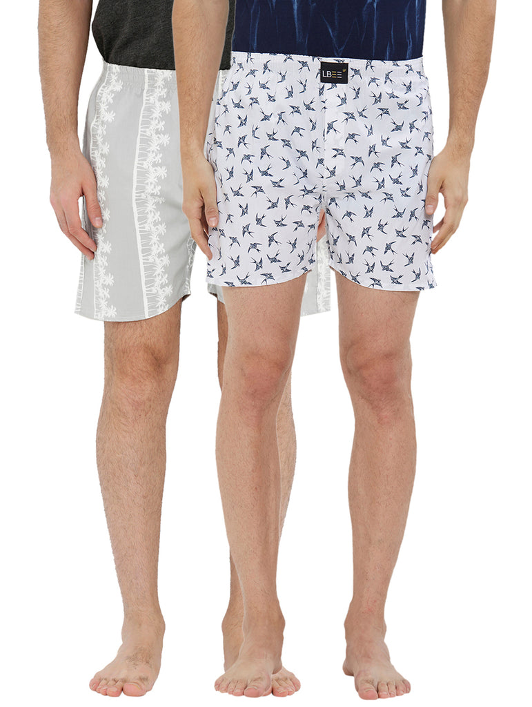 London bee men's boxer combo pack of 2 MLBCP20128