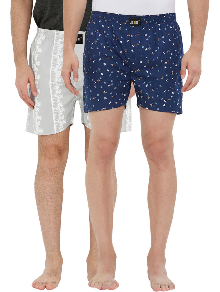 London bee men's boxer combo pack of 2 MLBCP20130