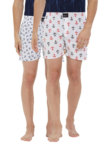 London bee men's boxer combo pack of 2 MLBCP20131