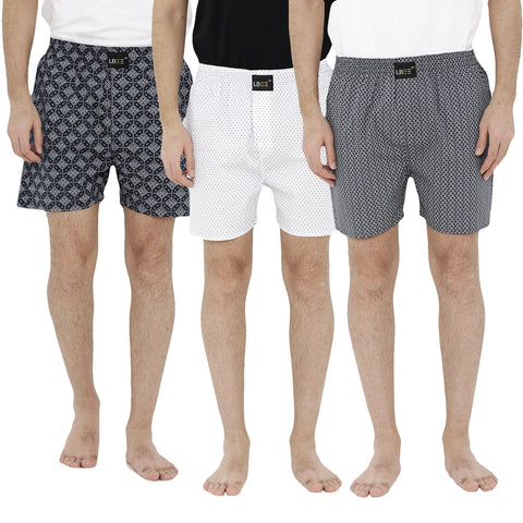 London bee men's boxer combo pack of 3 MLBCP30050