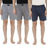 London bee men's boxer combo pack of 3 MLBCP30064