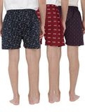 London bee men's boxer combo pack of 3 MLBCP30077