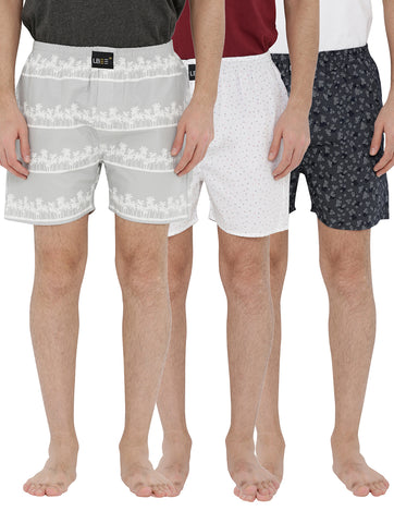 London bee men's boxer combo pack of 3 MLBCP30084