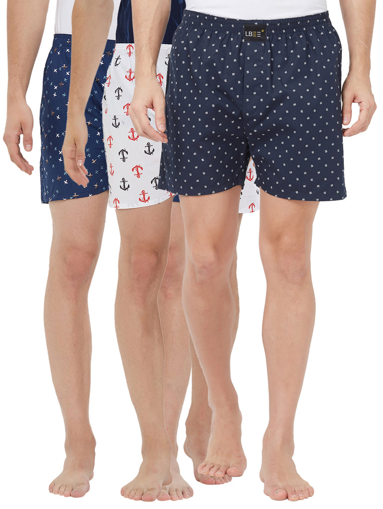 London bee men's boxer combo pack of 3 MLBCP30096