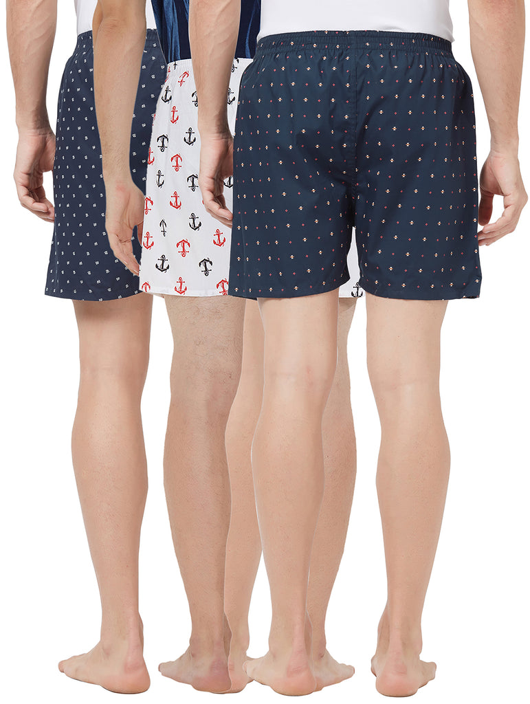London bee men's boxer combo pack of 3 MLBCP30097