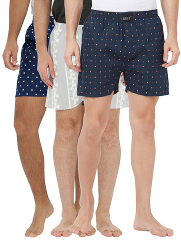 London bee men's boxer combo pack of 3 MLBCP30099