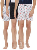 London bee men's boxer combo pack of 3 MLBCP30101