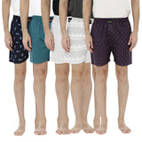 London bee men's boxer combo pack of 5 MLBCP50031