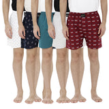 London bee men's boxer combo pack of 5 MLBCP50035