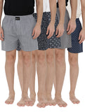London bee men's boxer combo pack of 5 MLBCP50042