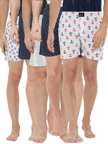 London bee men's boxer combo pack of 5 MLBCP50053