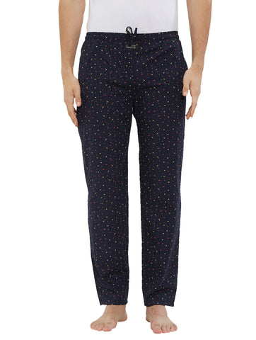 London Bee Men's Cotton Poplin Printed Pyjama/ Lounge Pant MPLB0129