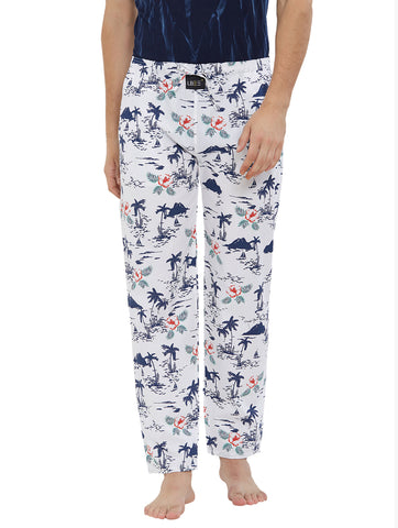 London Bee Men's Cotton Poplin Printed Pyjama/ Lounge Pant MPLB0131
