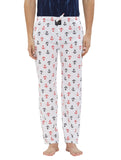 London Bee Men's Cotton Poplin Printed Pyjama/ Lounge Pant MPLB0132