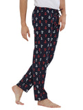 London Bee Men's Cotton Poplin Printed Pyjama/ Lounge Pant MPLB0133