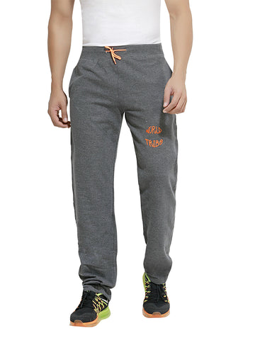 London Bee Men's Grey Cotton Trackpant MTLB0005