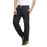 Black Colour Men's Track Pant