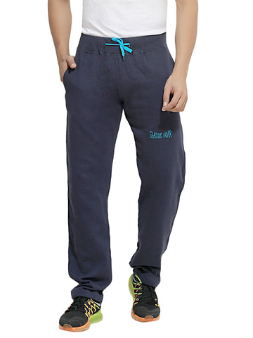 London Bee Men's Navy Blue Cotton Trackpant MTLB0008